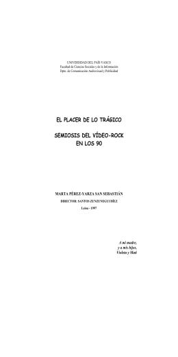 universidad del país vasco - Dirección de Investigaciones y Postgrado