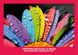 CENTROS SOCIALES LA NUCIA