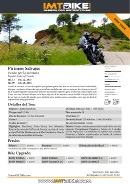 Pirineos Salvajes - Iberian Moto Tours