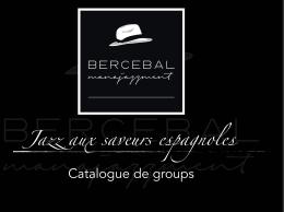 Jazz aux saveurs espagnoles Catalogue de groups