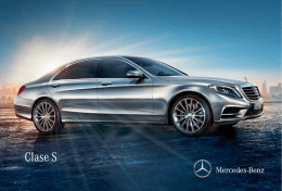 Clase S - Mercedes
