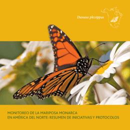 monitoreo de la mariposa monarca en américa del norte: resumen
