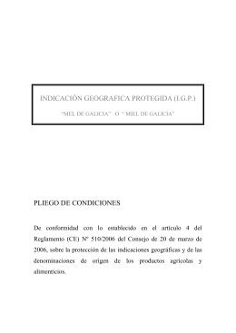 INDICACIÓN GEOGRAFICA PROTEGIDA - Medio Rural