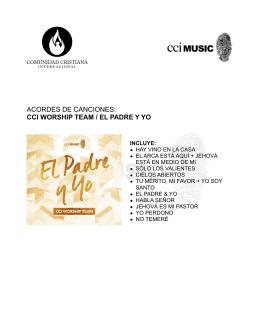 Descarga los cifrados - Bienvenido a CCI Music