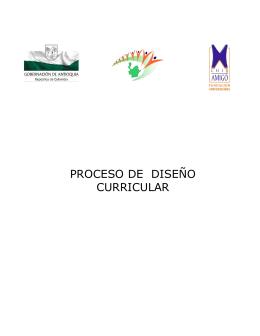 diseño curricular - Decanato de Educación Avanzada | UNESR