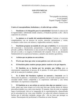 LOS STUCKISTAS (fundado en 1999)