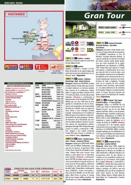 SPECIALTOURS - Gran Tour de Reino Unido e Irlanda