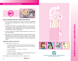 Salud sexual y reproductiva