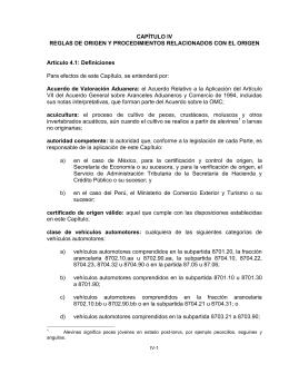 Capítulo XX - Secretaría de Economía