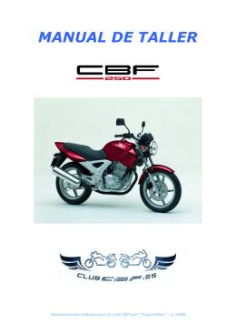 Manual de Taller Honda CBF 250