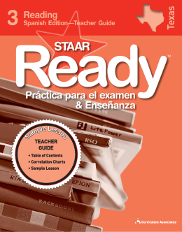 STAAR Ready Test Practice & Instruction TG