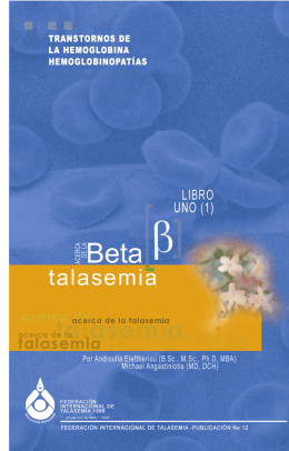 Libro 2 - Thalassaemia International Federation