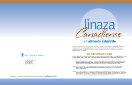 Un alimento saludable - Flax Council Of Canada