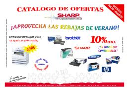 COPIADORA/ IMPRESORA LÁSER AR-5316E+ AR-SP6N+AR-EB7
