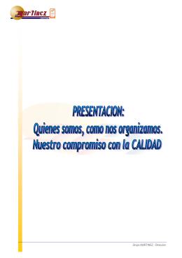 Dossier Empresa - Autocares Martínez