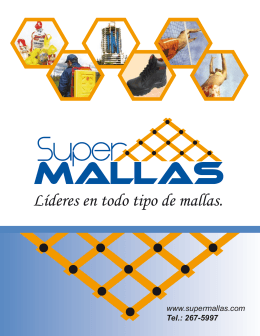 Catalogo SuperMallas