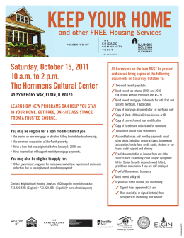 Saturday, October 15, 2011 10 a.m. to 2 p.m. The
