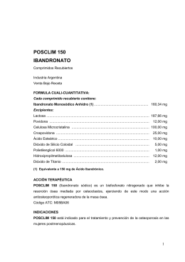 POSCLIM 150 IBANDRONATO