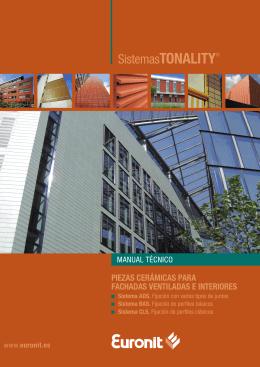 piezas cerámicas para fachadas ventiladas e interiores