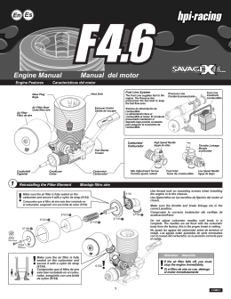 Engine Manual Manual del motor