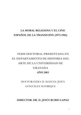 la moral religiosa y el cine español de la transición