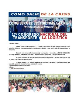 Programa Alicante 09 prov