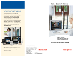 Home Control Solutions, Your Connected