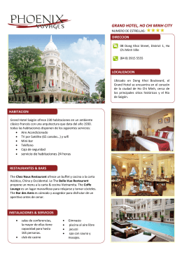 GRAND HOTEL, HO CHI MINH CITY