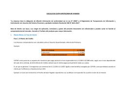 Formulas - Hipotecaria SURA