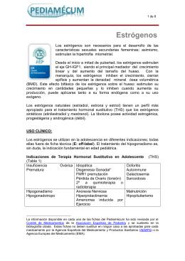 Estrógenos - Pediamécum