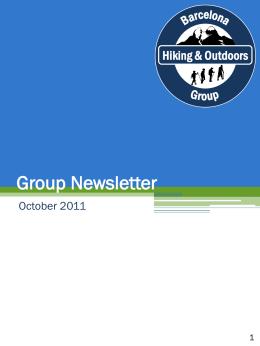 Group Newsletter