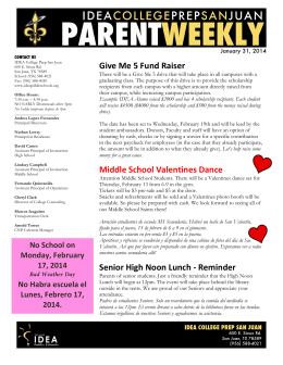Give Me 5 Fund Raiser Middle School Valentines Dance Senior