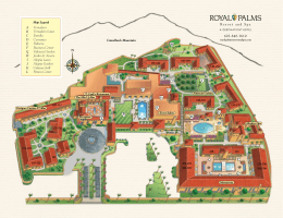 Resort Map - Royal Palms Resort & Spa