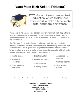 Want Your High School Diploma?