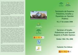 Programa Seminario de Expertos 2008