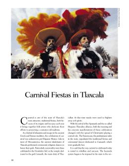 Carnival Fiestas in Tlaxcala