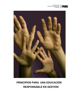 principios para una educación responsable en gestion