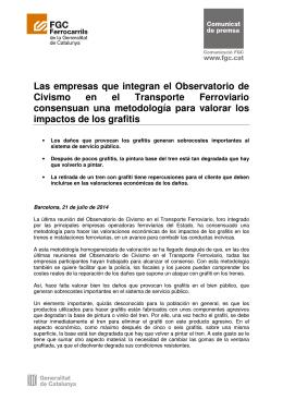 Las empresas que integran el Observatorio de Civismo en el