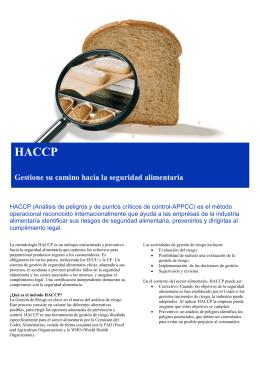 Flyer HACCP