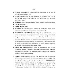 SIMULACIÓN DE LA CÁM - Biblioteca Digital Universidad de San
