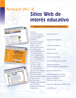 4 Sitios Web de interés educativo