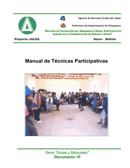 Anexo 2 - Manual de Técnicas Participativas