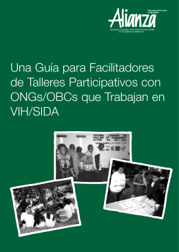 Una Guía para Facilitadores de Talleres Participativos con ONGs