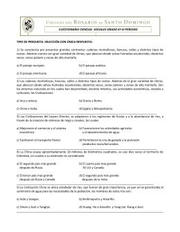 CUESTIONARIO CIENCIAS SOCIALES GRADO 6º
