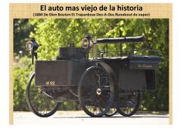 EL AUTO MAS VIEJO DE LA HISTORIA Y AÚN