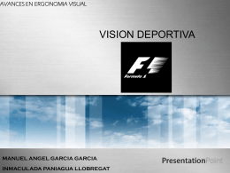 Visión deportiva en F1
