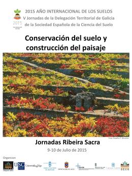 Cartel y programa Jornadas Ribeira Sacra