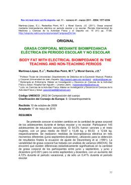 Texto en PDF - Comunidad Virtual CIENCIAS DEL DEPORTE