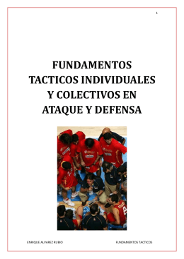 fundamentos tacticos en defensa