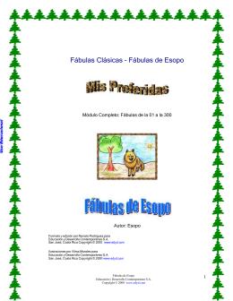 Fábulas Clásicas - Fábulas de Esopo